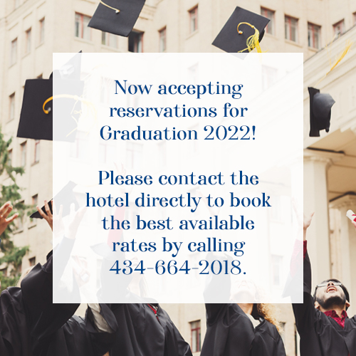Please contact the hotel directly to book the best available rates by calling 434-664-2018